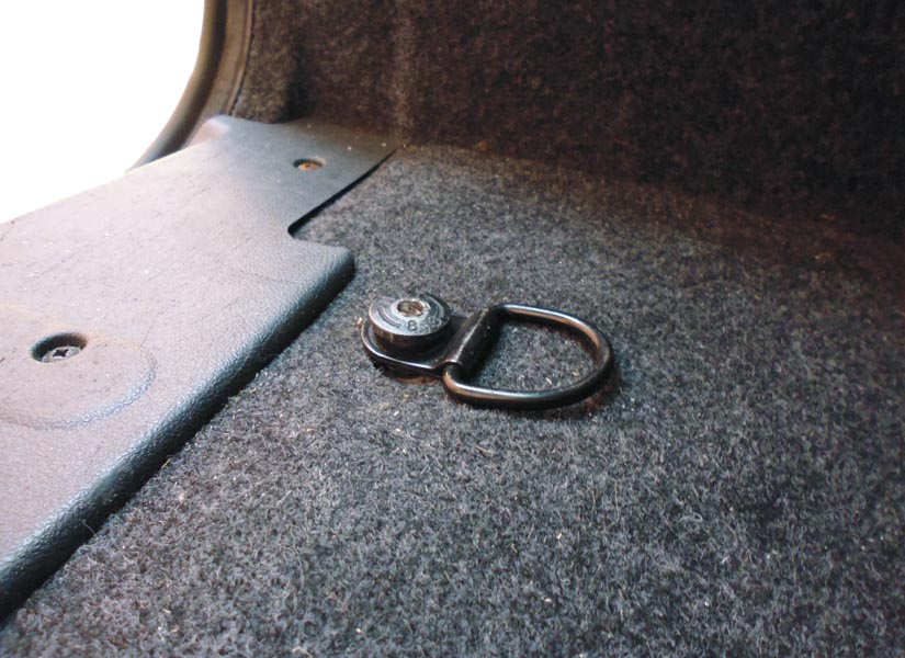 Fiat Qubo Luggage Strap Ring