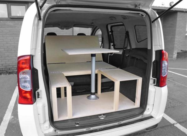 Peugeot Bipper Tepee Camper Van Conversion