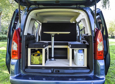 Peugeot Partner Camper Van Conversion