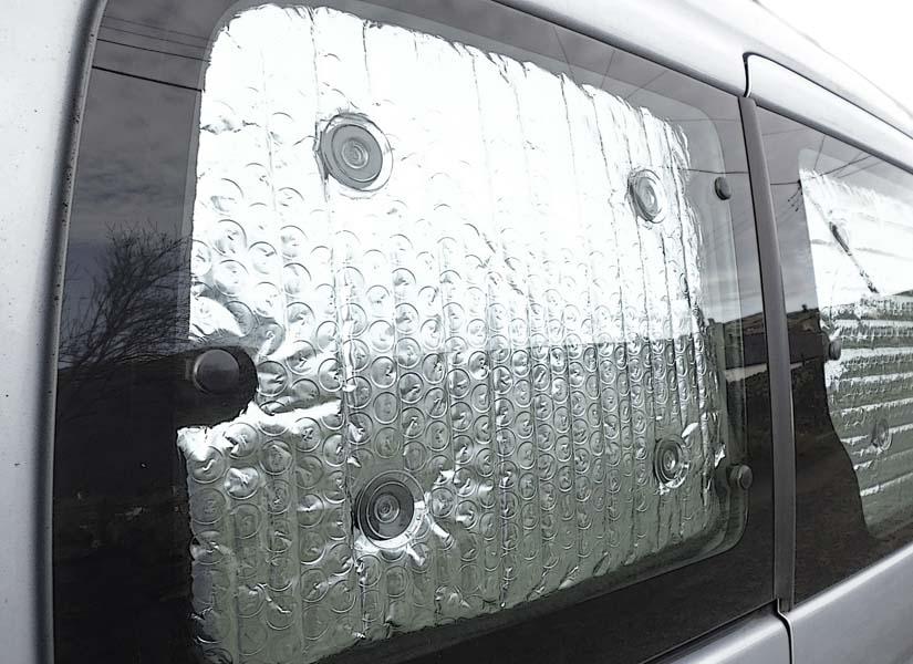 Camper Van Conversion Window Blinds
