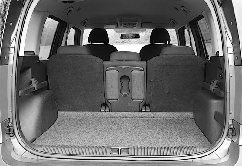 Skoda Yeti High Boot Floor