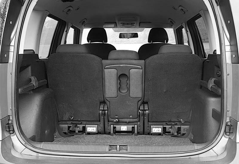 Skoda Yeti Low Boot Floor
